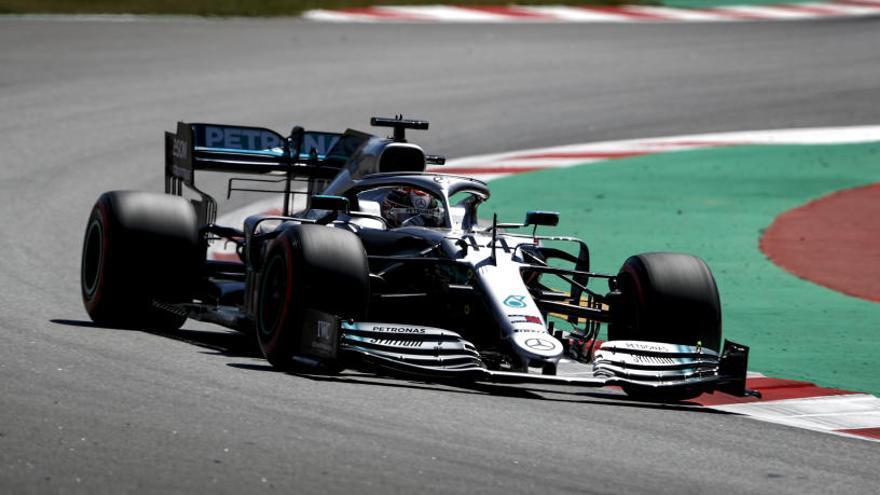 Hamilton, el más rápido en los terceros libres en el circuito de Montmeló