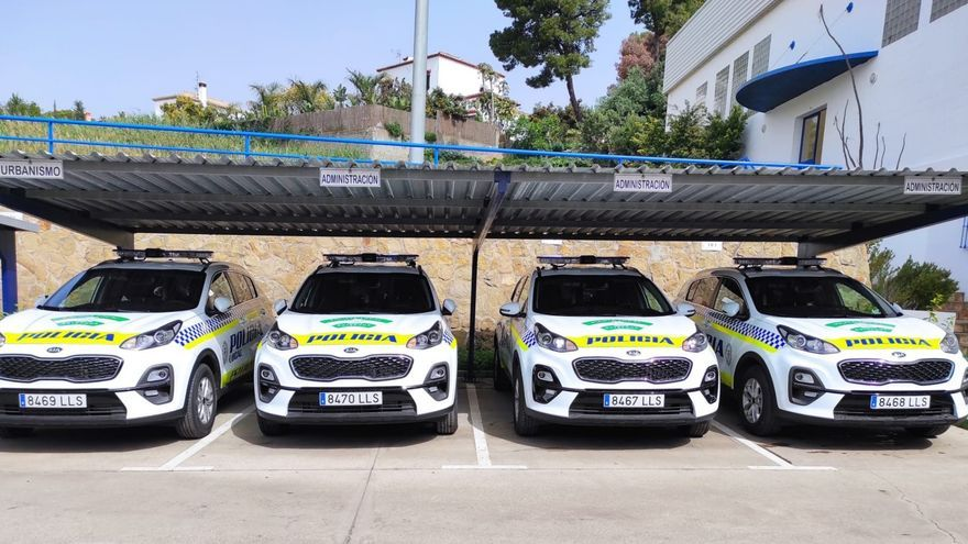 Estepona renueva la flota de la Policía Local con la adquisición de 7 vehículos