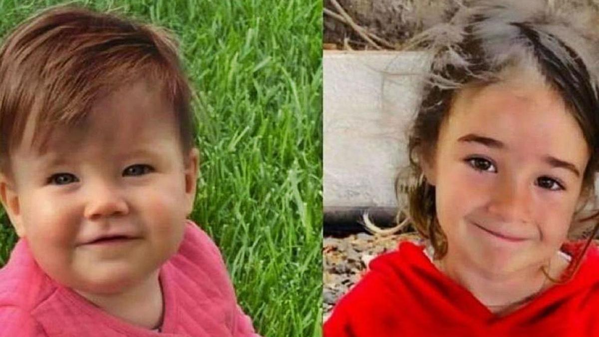 Anna y Olivia, las dos niñas desaparecidas en Tenerife.
