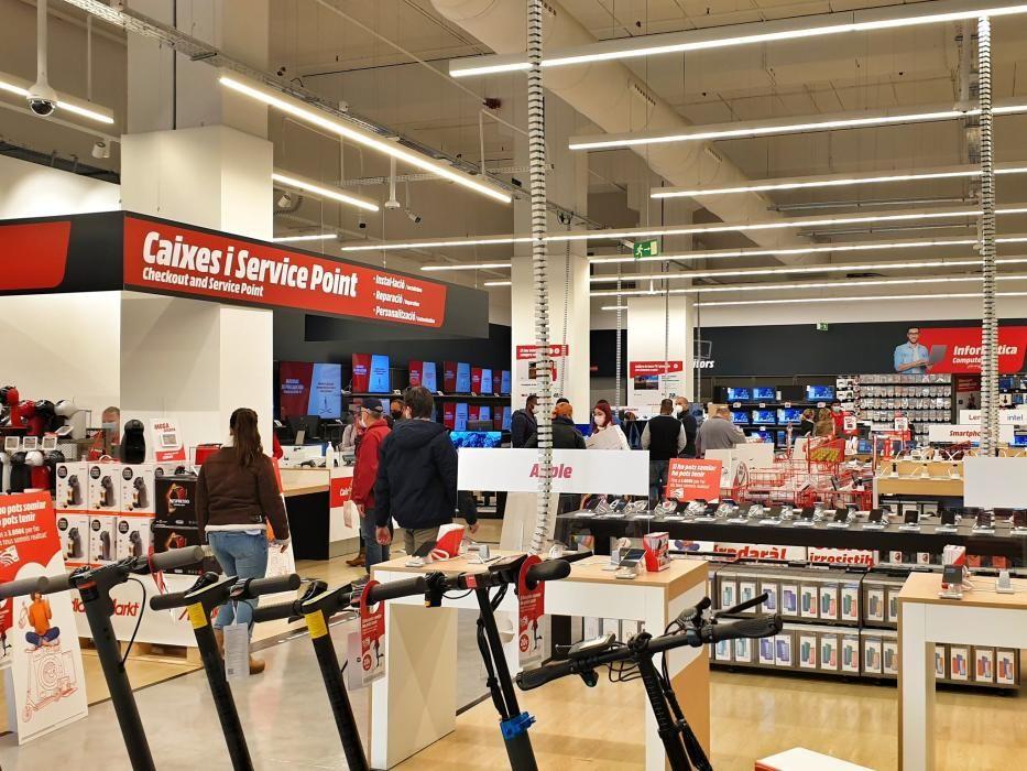 La nova botiga MediaMarkt a Lloret de Mar