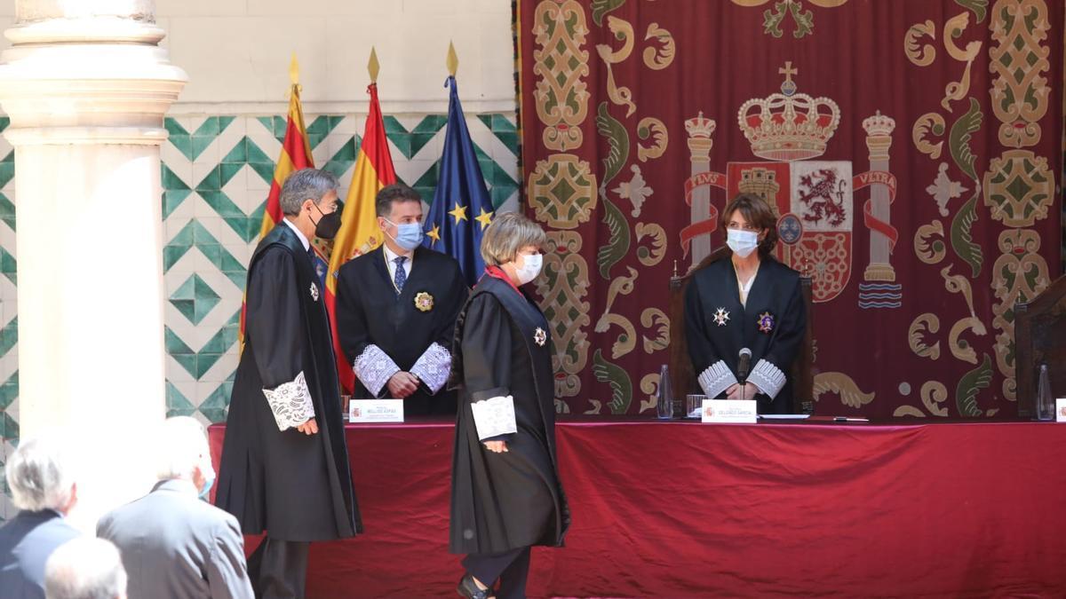 Toma de posesión de la fiscal superior de Aragón, Asunción Losada.