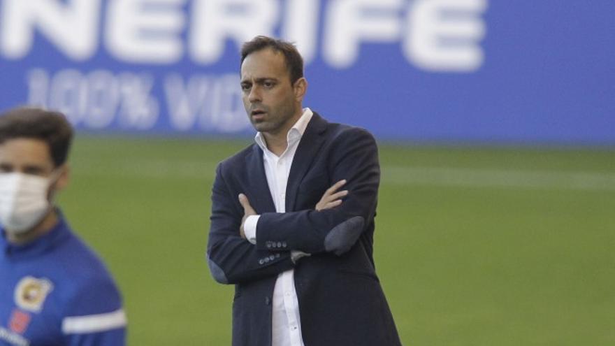 El CD Tenerife destituye a Fran Fernandez como entrenador
