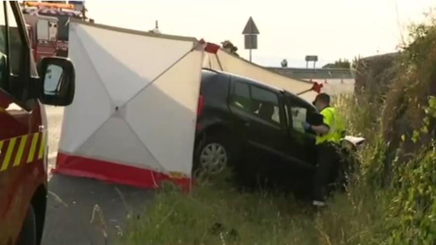 Muere un hombre de 63 años en una colisión en Carnota