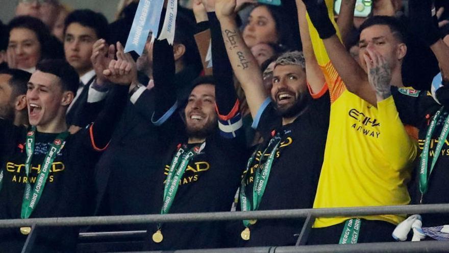 El City se alza con su tercera Copa de la Liga consecutiva
