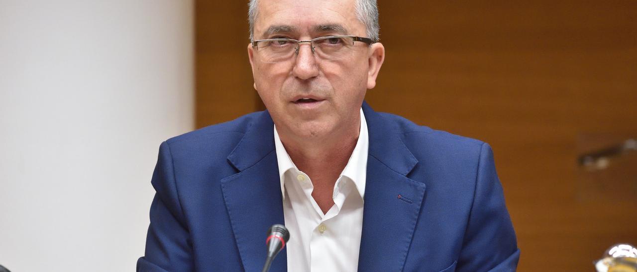El conseller de Economía Sostenible, Rafa Climent.