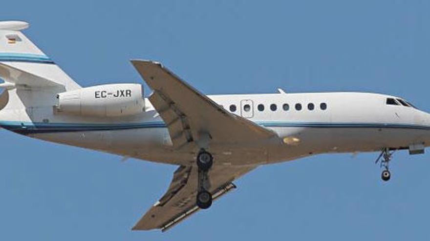 Rajoy llegó a Valencia en un jet privado tras pagar 15.400€