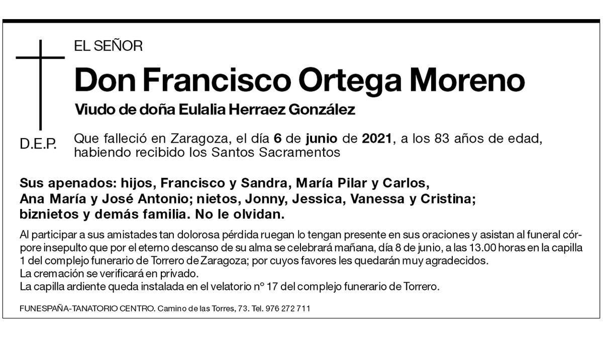 Francisco Ortega Moreno