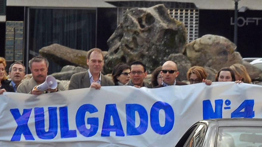 Decepción en O Salnés al quedar Vilagarcía un año más sin el ansiado cuarto juzgado