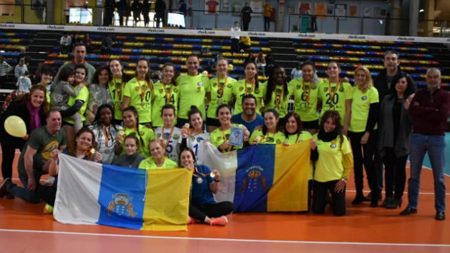 El Ibsa COO 7 Palmas, campeón de la Superliga Femenina júnior