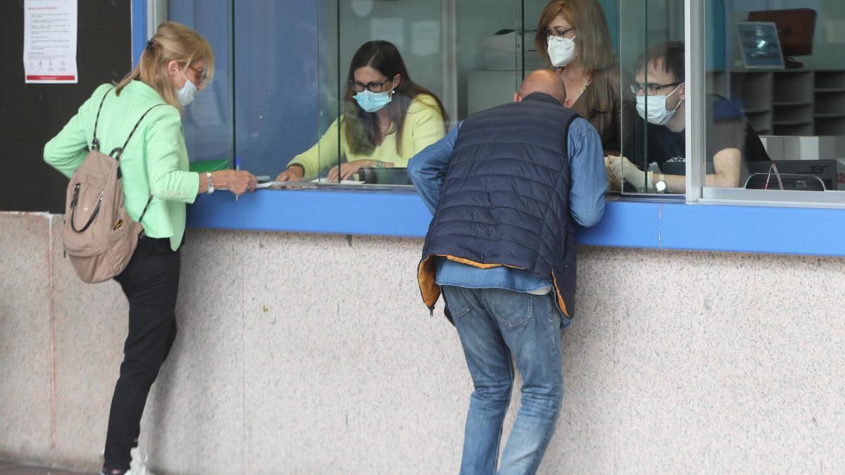 La ventanilla exclusiva para empadronarse en Vigo se ubicará en la lonja del Concello. // Ricardo Grobas