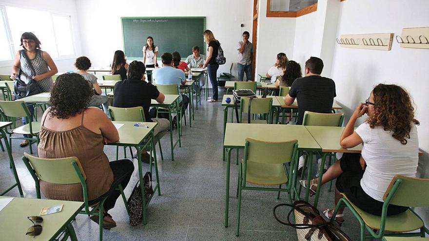 Un total de 659 docentes opositan a 257 plazas en Ibiza y Formentera
