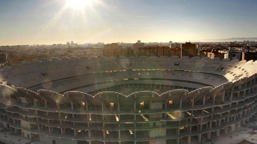 Nuevo estadio: el as en la manga del Valencia CF