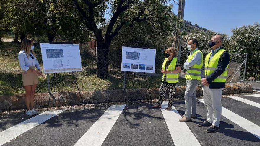 Culminan las obras de mejora de la carretera sa Pobla-Alcúdia