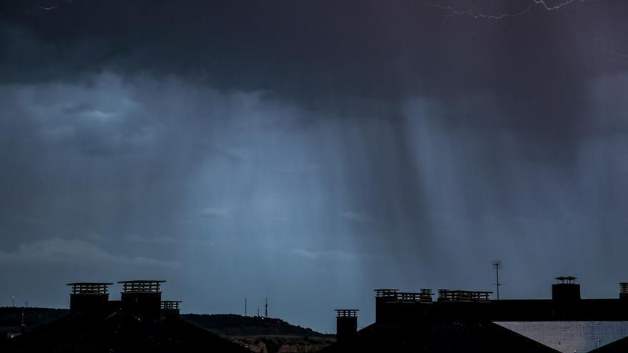 La provincia, en alerta amarilla debido a una borrasca de viento y lluvia