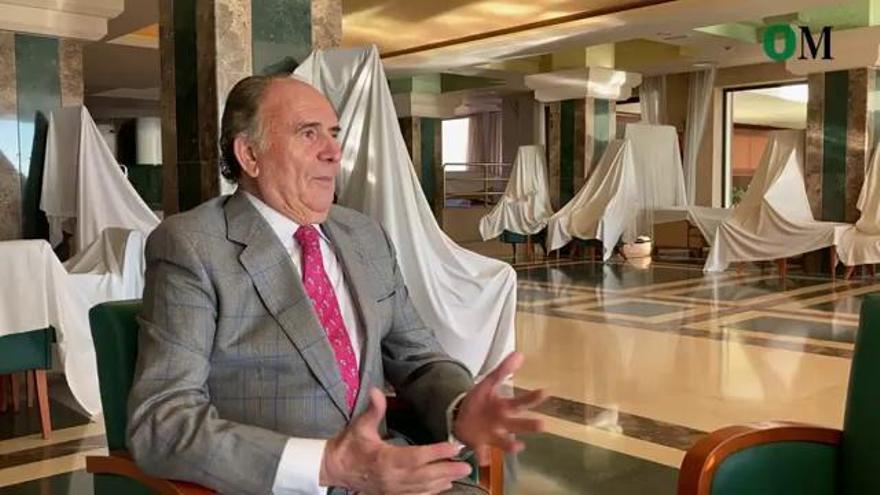 Entrevista a Miguel Sánchez, propietario del emblemático hotel Amaragua
