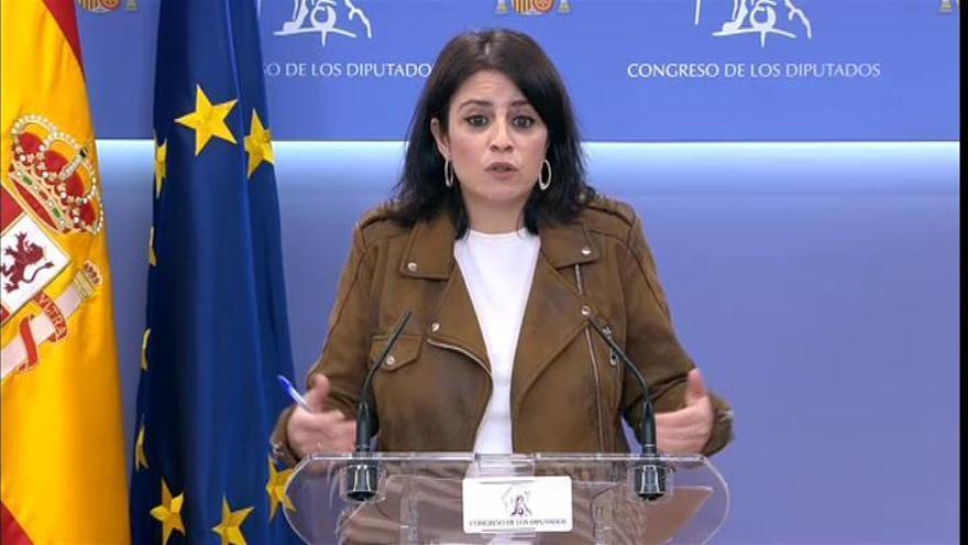 El PSOE rechazará la moción de ERC de negociar un referéndum pactado en Cataluña