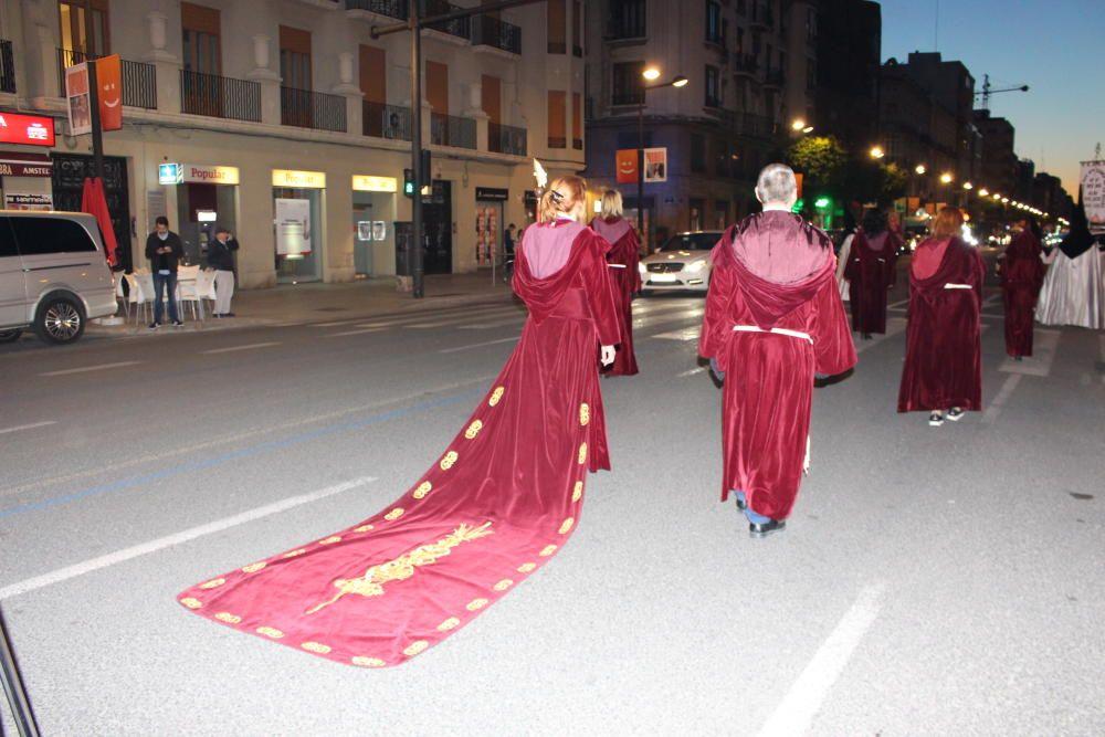 Procesión conjunta del Grao: hermandades de la Flagelación y Cristo de la Palma
