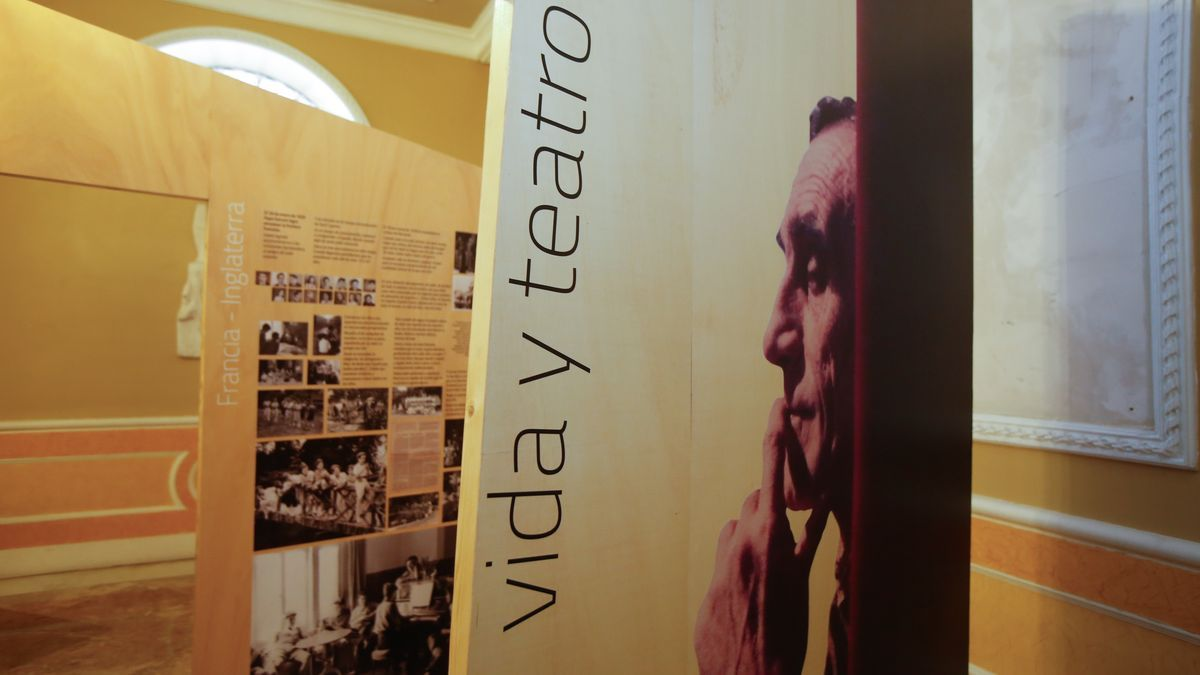 Imagen de la exposición sobre José Estruch