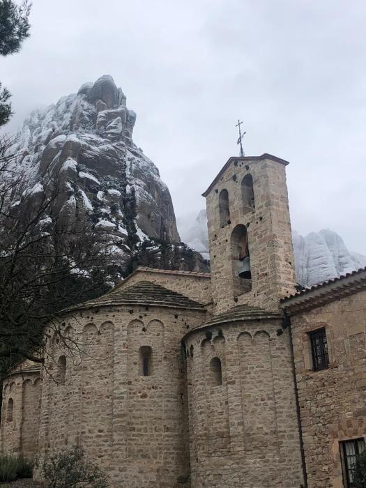 La nevada del 9 de gener, en fotos