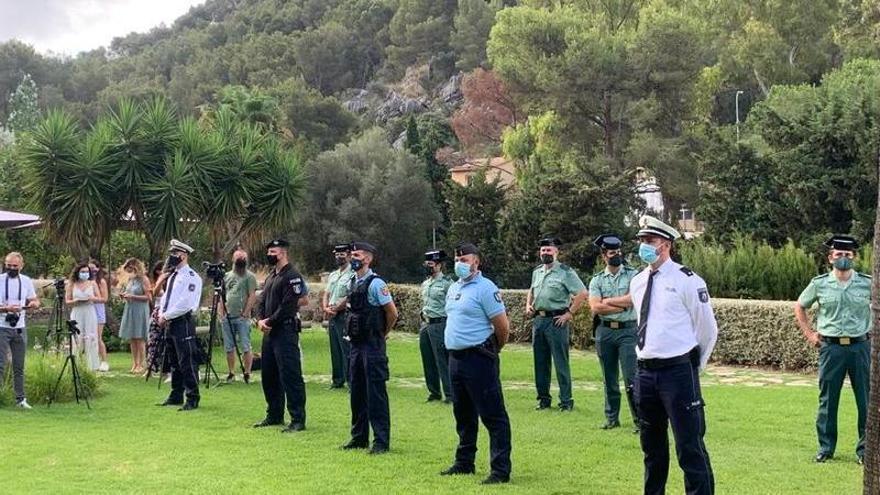 Ausländische Polizisten gehen wieder auf Streife auf Mallorca