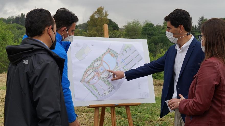 Coín  inicia las obras del gran Parque Lineal, que abarcará 20.000 metros cuadrados