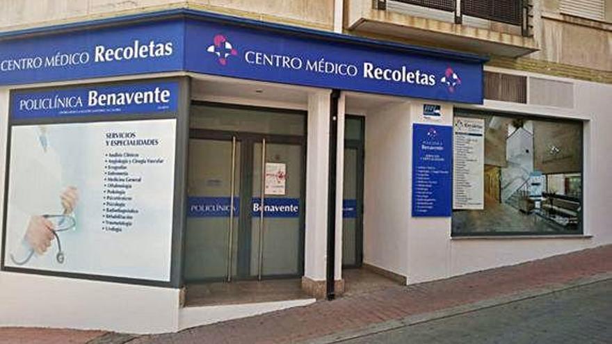 Centro médico en Benavente, integrado en Recoletas.
