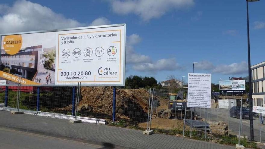 Vía Célere arranca también las obras para construir 44 pisos en Meixonfrío