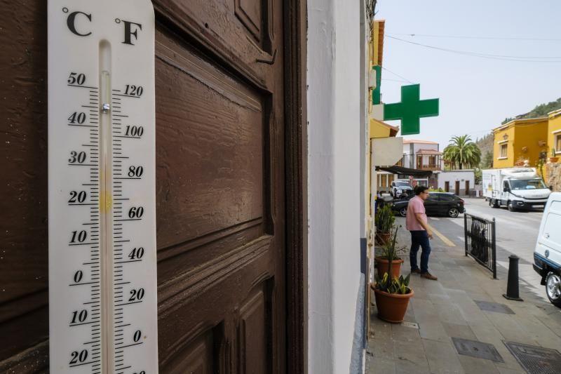 Calor y calima en Gran Canaria (10/6/21)