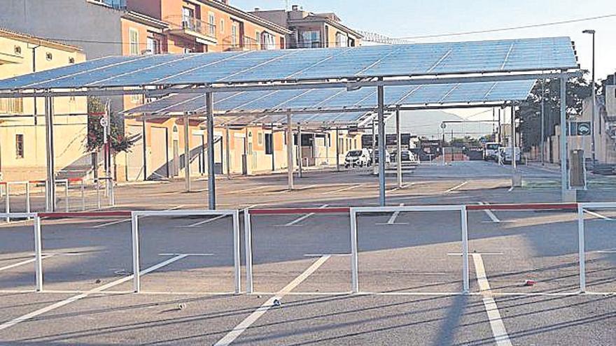 Destinan 158.000 euros a pérgolas fotovoltaicas y a puntos de recarga en Llucmajor