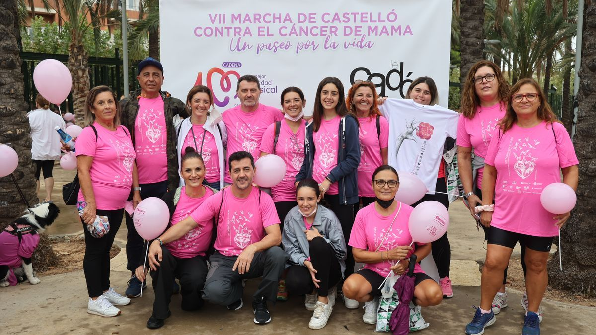 Marcha contra el cáncer de mama.