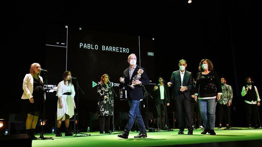 Los premios Martín Códax reivindican el sector de la música tras la crisis del COVID