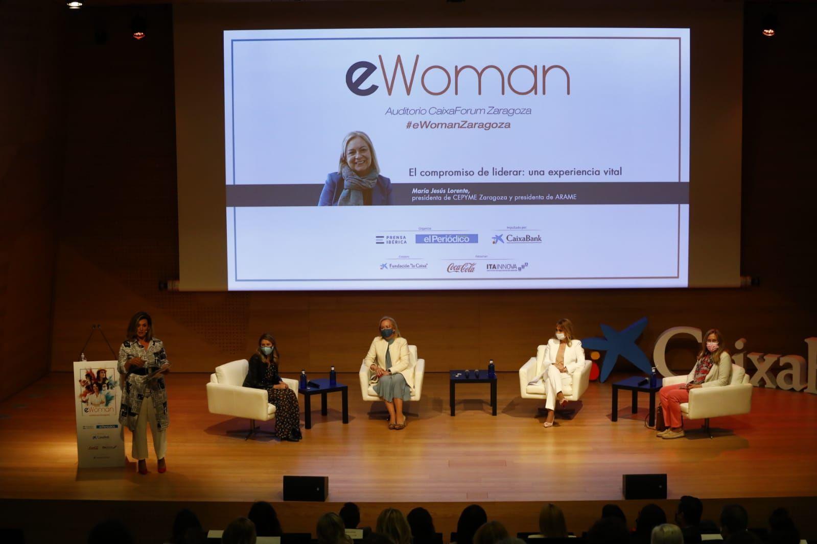 eWoman Zaragoza. Mujeres de éxito en el entorno laboral y tecnológico