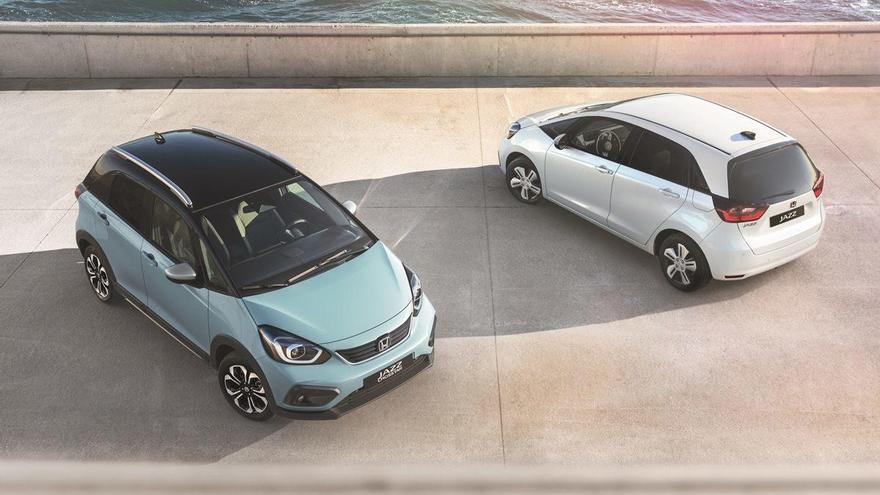Honda Jazz: urbà, híbrid i crossover