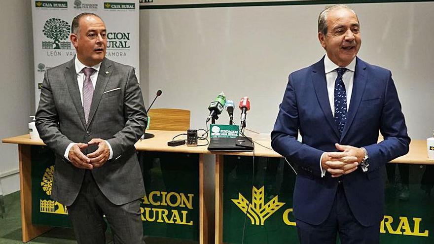 Nicanor Santos y Cipriano García. | Jose Luis Fernández