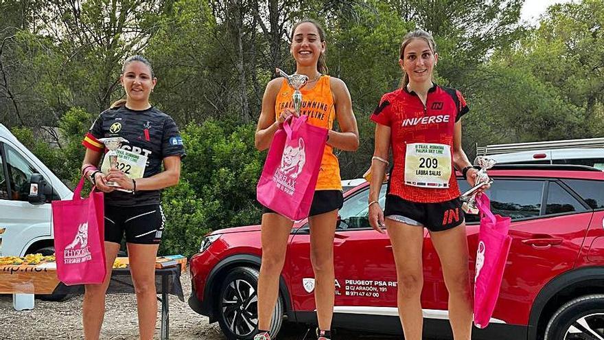 José Luis García y Luisina Ravel vencen en la 'II Trail Running Palma Sky Line'