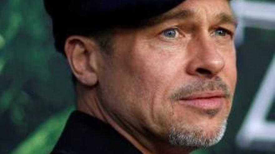 Brad Pitt reapareix prim i trist