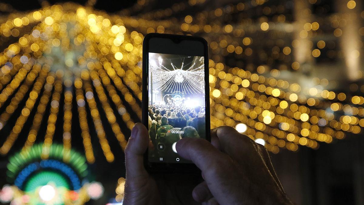 Encendido de las luces de navidad de Vigo en 2019