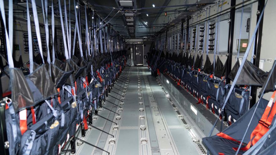 Así es el A400M, el modelo de avión con el que España repatriará al personal de Afganistán