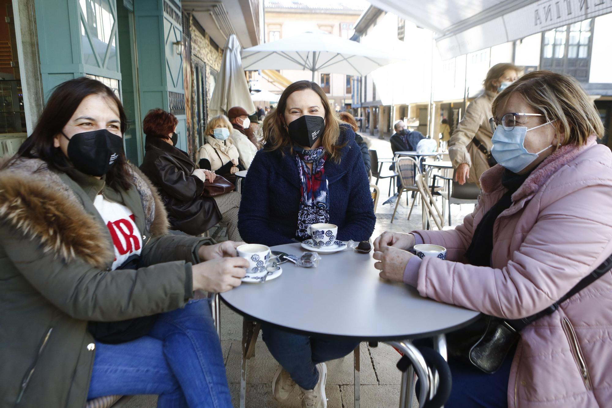 Así fue el primer día de cierre perimetral en Oviedo