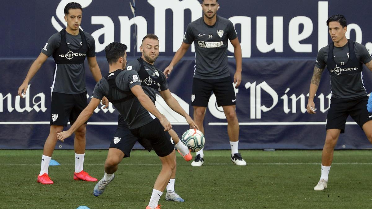 El Málaga se ha adaptado en todo momento a las nuevas normas y cumple con los entrenamientos.