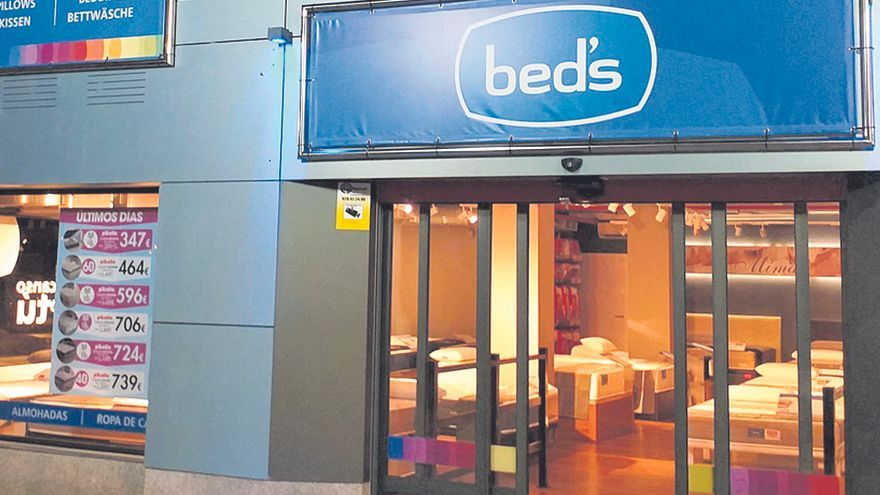 Nueva Tienda bed's en el centro comercial La Mareta