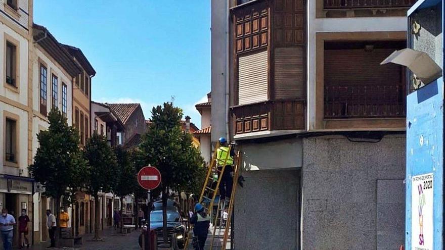 El núcleo urbano de Villaviciosa contará con servicio de fibra óptica a finales de noviembre