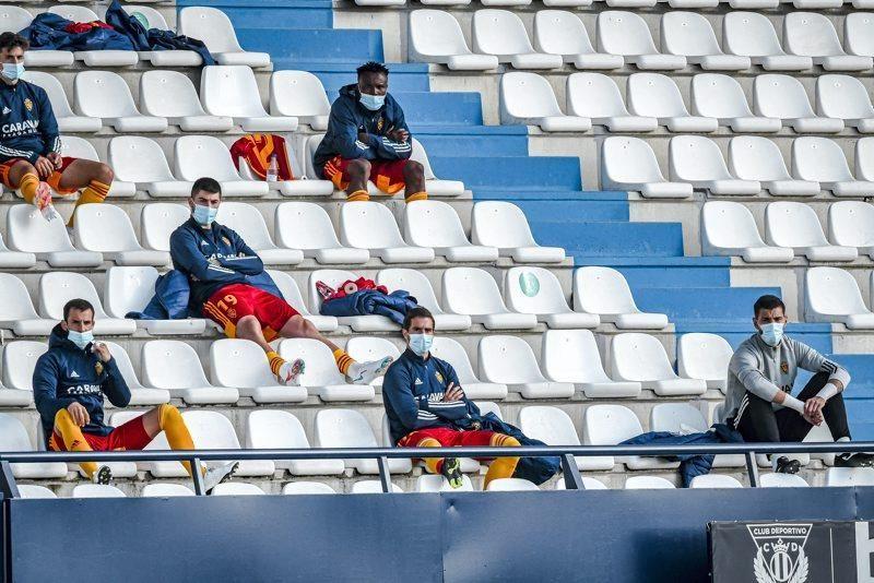 Partido CD Leganés - Real Zaragoza