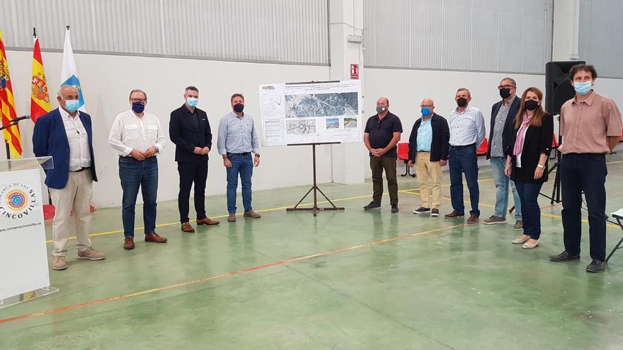 La segunda fase de la mejora de la A-1102, entre Villanueva y Castejón de Valdejasa, se ejecutará en 12 meses