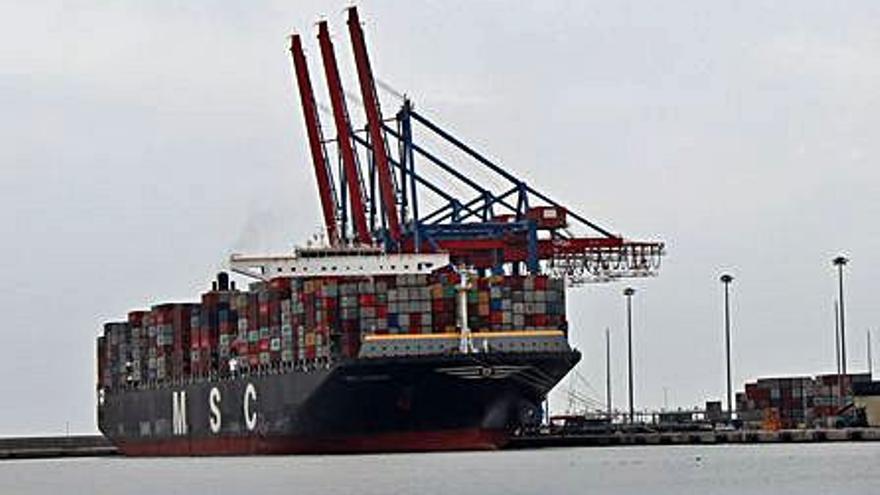 El tráfico de mercancías del Puerto de Málaga sube un 31% respecto al ejercicio 2020