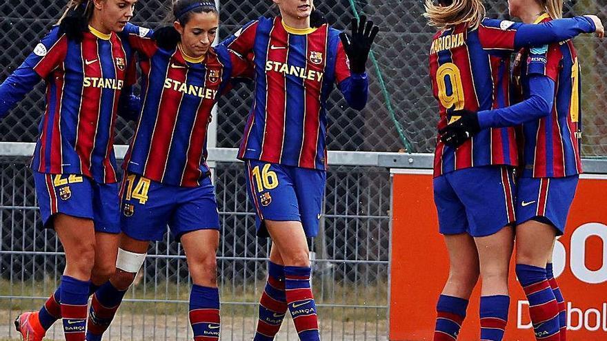 L'equip femení remata l'accés a quarts amb una altra golejada