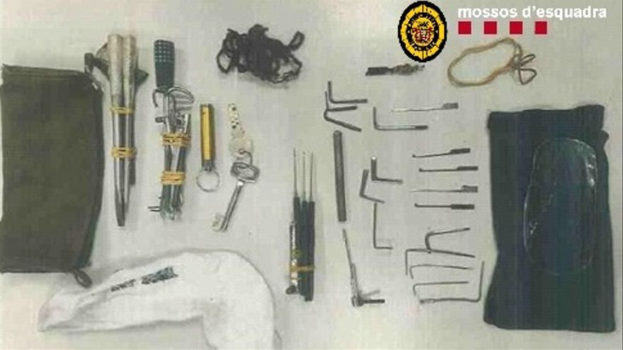 Dos detinguts per intentar robar en diversos domicilis d'Igualada