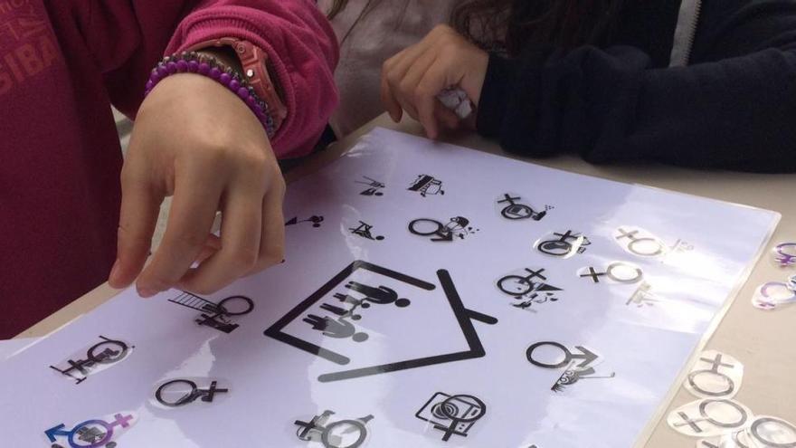 Sensibilització sobre violència de gènere a centres educatius de Manresa
