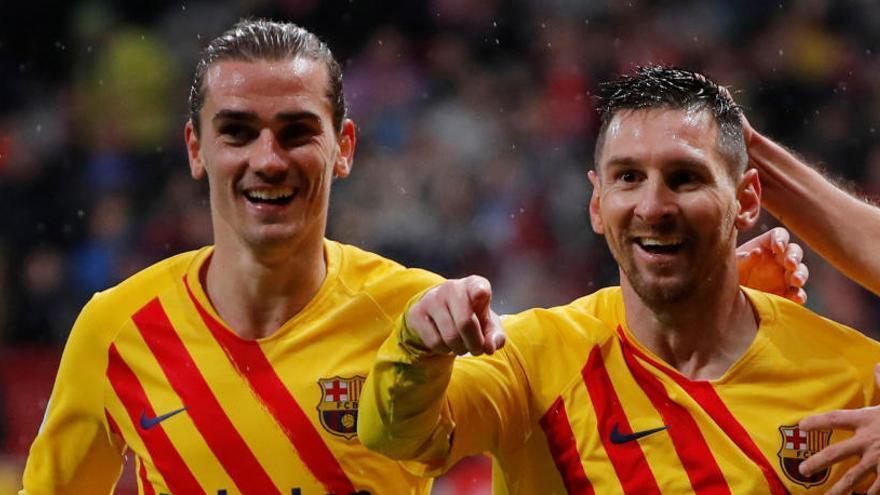 Multa de 12.000 euros al Atlético de Madrid por insultos a Griezmann en la grada
