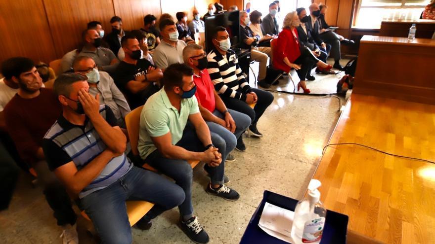 Sin acuerdo en el macrojuicio por drogas de Murcia en el que está acusado un policía